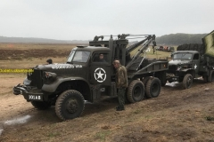 2018-10-13 diamond-t 6x6 wrecker + gmc