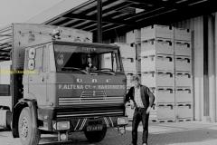 Daf van de Firma Altena uit Hardenberg ingezet voor groente en fruit transport chauffeur onbekend.