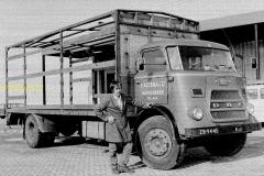 Daf van de Firma Altena uit Hardenberg. Chauffeur onbekent
