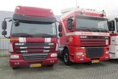 DAF CF 75-360 2010 + XF 95-430 2003 Hendriks 011