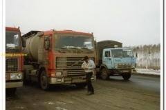 2010-12-24 Volvo met Frie Rommens in Rusland