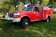 2017-10-31 Ford F 350 Firetruck 1993