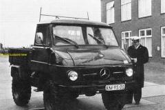 2012-12-09 Mercedes Marine Beveiligings Korps 1972