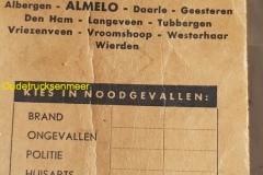 2018-07-16 Telefoonboek Almelo 1960