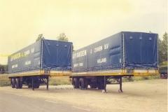2011-02-04 Visbeen 2 x Paul trailer - Zevenhuizen half jaren 70