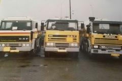 2015-12-14-2x-Daf-2100-en-een-Scania-P92M-op-het-depot-in-Roosendaal.